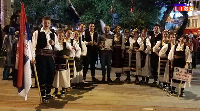 KUD Moravica vrlo uspešan na festivalu folklora u Turskoj