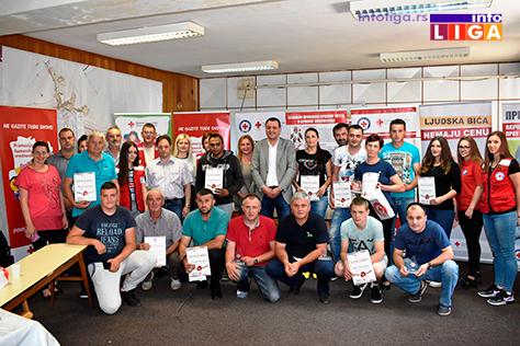 IL-nagrade-crveni-krstsvi Priznanja dobrovoljnim davaocima krvi u Ivanjici (VIDEO)