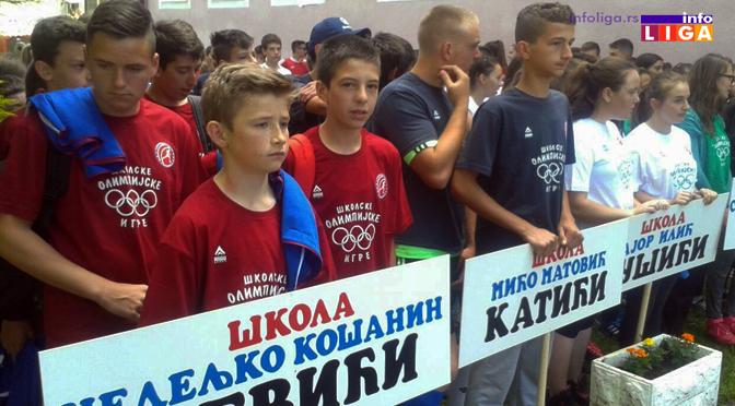 Školska olimpijada održana u Katićima