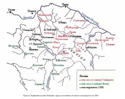 IL-osonica-rudnik-karta1 U Osonici u srednjem veku vađena ruda srebra i olova