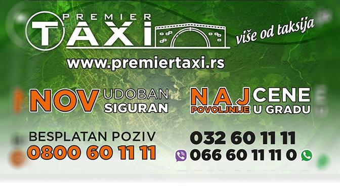 IL-premier-oglas PREMIER TAXI zvanično počeo sa radom