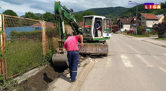 Rekonstrukcija trotoara ŠPIK – Lučka reka