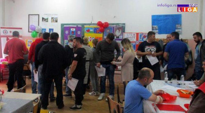 Uspešno realizovana Vidovdanska akcija dobrovoljnog davanja krvi u Ivanjici
