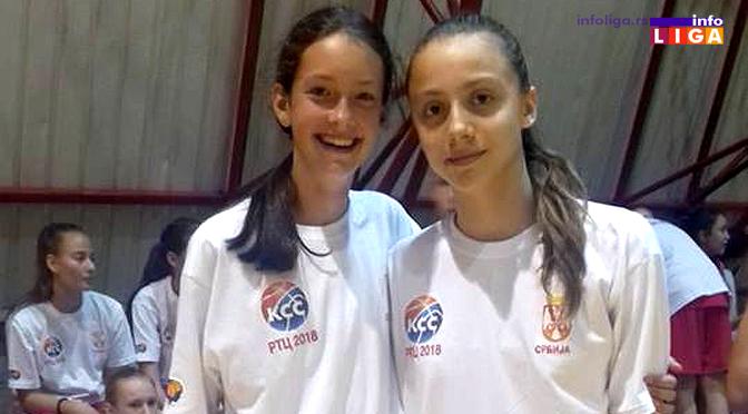 Ivanjičanke u košarkaškoj reprezentaciji Srbije