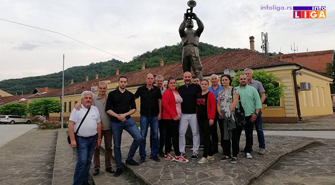Janković posetio prestonicu trube