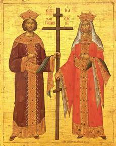 IL-sv_car_konstantin_i_carica_jelena Vladika Justin služio liturgiju povodom slave ivanjičke crkve (VIDEO)