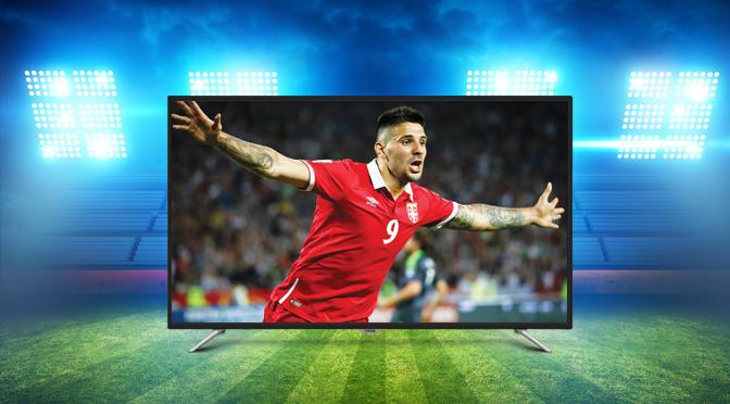 Najbolji TV doživljaj i najjeftinije cene televizora za Svetsko prvenstvo!