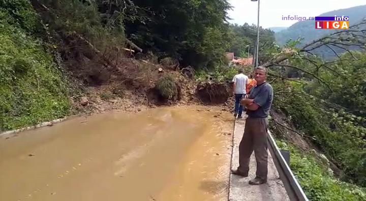 IL-lucka-reka-odron-2 Klizište zatrpalo državni put Ivanjica - Luke (VIDEO)