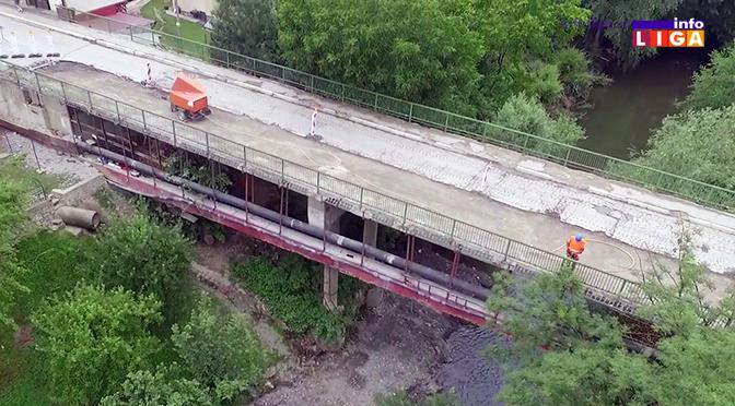 IL-most-crnjevo Crnjevski most otvoren samo za pešake, vozači moraju alternativnim pravcima