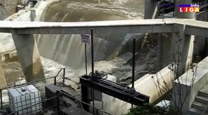 Odloženo uklanjanje betonskog mosta zbog visokog vodostaja Moravice