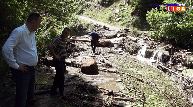 U Ivanjici vanredna situacija nakon nevremena (VIDEO)