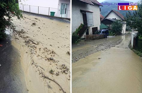 IL-otocka-potok2 Atmosferska voda pravi probleme meštanima Otočke ulice