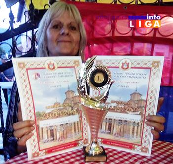 IL-nagrada-sarajevo-milja U Sarajevu Milja zlatna, Biseri bronzani