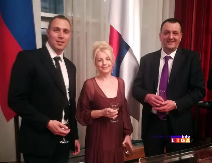 IL-ambasada-rusija-2 Na svečanom prijemu kod ambasadora Rusije, delegacija iz Ivanjice