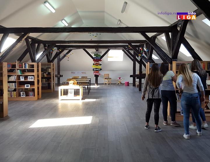 IL-biblioteka-tehnicka-skola Novi čitalački kutak - Biblioteka Tehničke škole u Ivanjici