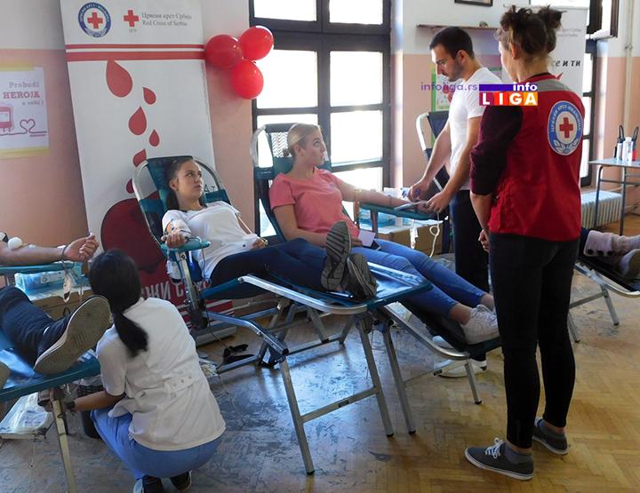 IL-crveni-krst-ivanjica-akcija-ddk-teh-skola 38 novih davalaca krvi u akciji Crvenog krsta Ivanjica