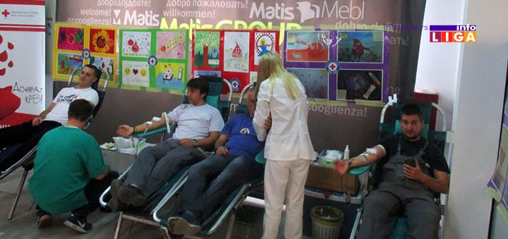 IL-matis-i-policija-ddk Matisovci i policajci u dobrovoj akciji prikupljanja krvi