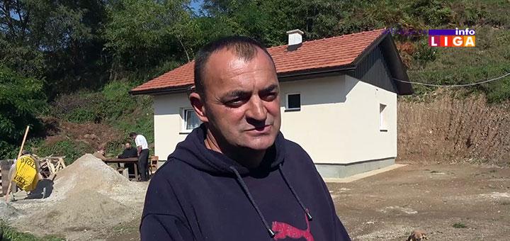 Humani ljudi izgradili kuću za porodicu Milinković (VIDEO)