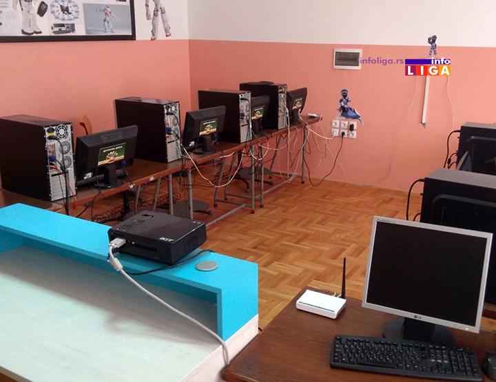 IL-os-medjurecje-ucionica2 Tri računara i preko 200 knjiga za školarce u Međurečju