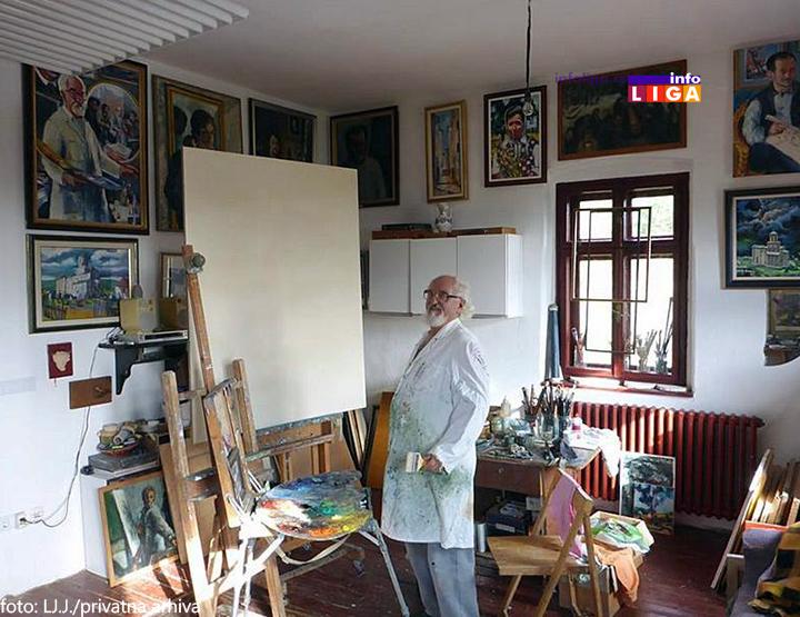 IL-ljubivojejovanovicarilje Izložba slika - 50 godina Ljubivoja Jovanovića
