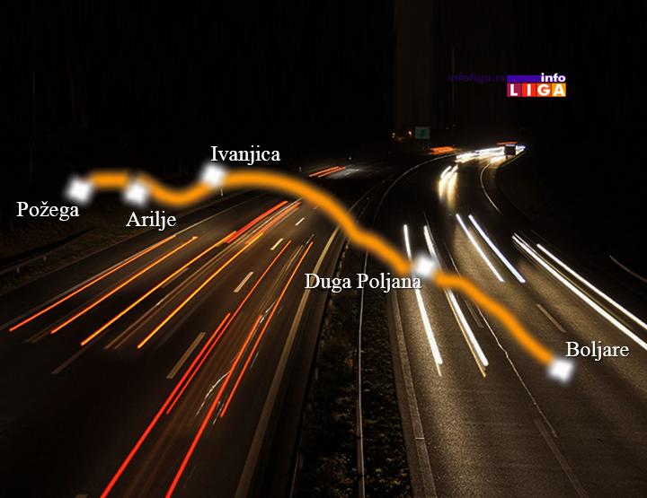 IL-autoput-pozega-boljare Gradnja autoputa preko Ivanjice mogla bi da počne 2021. godine