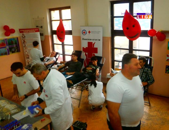 IL-ck-ddk-akcija-dec18-2 Uspešno sprovedena akcija dobrovoljnog davanja krvi