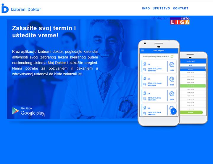 IL-izabrani-doktor NOVO - Zakazivanje pregleda u Domu zdravlja putem fiksnog telefona i mobilne aplikacije
