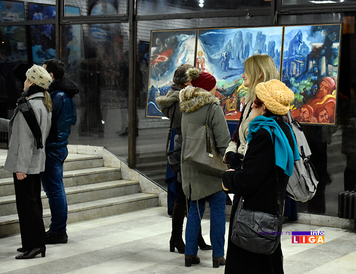 IL-izlozba-ljubivoje-j-2 Pola veka umetnosti Ljubivoja Jovanovića (FOTO-VIDEO)