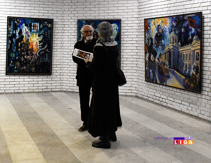 IL-izlozba-ljubivoje-j-6 Pola veka umetnosti Ljubivoja Jovanovića (FOTO-VIDEO)