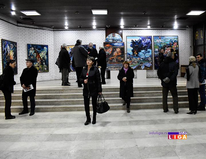 IL-izlozba-ljubivoje-j-ivanjica Pola veka umetnosti Ljubivoja Jovanovića (FOTO-VIDEO)