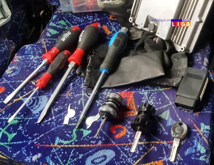 IL-mup-kradja-kola-delovi-alat Kriminalna grupa krala automobile i u delovima ih prodavala na auto placevima u okolini Čačka
