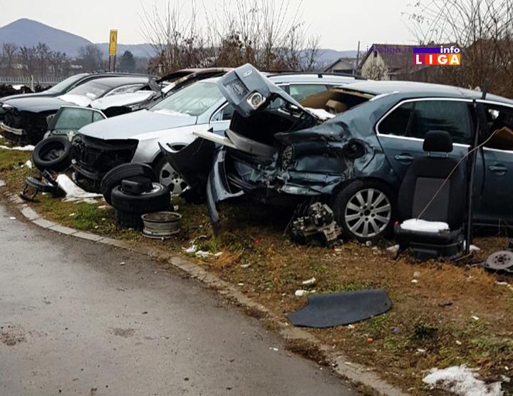 IL-mup-kradja-kola-delovi-otpad-mojsinje2 Kriminalna grupa krala automobile i u delovima ih prodavala na auto placevima u okolini Čačka