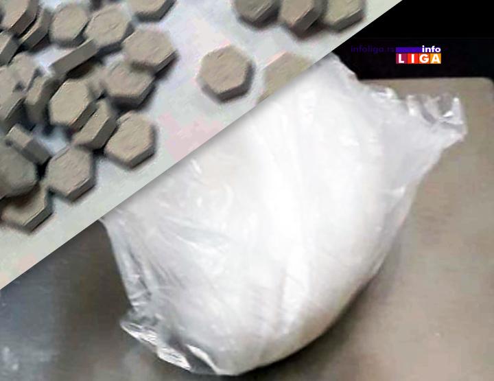 IL-narkotici Uhapšeno pet osoba zbog posedovanja narkotika i oružja