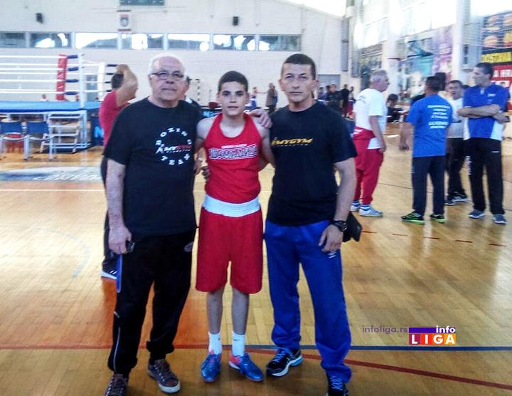 Ivanjičanin Uroš Veljović pozvan na pripreme bokserske reprezentacije Srbije