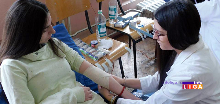 IL-crveni-krst-vezba SIM TIM realizovao edukaciju iz oblasti dobrovoljnog davalaštva krvi