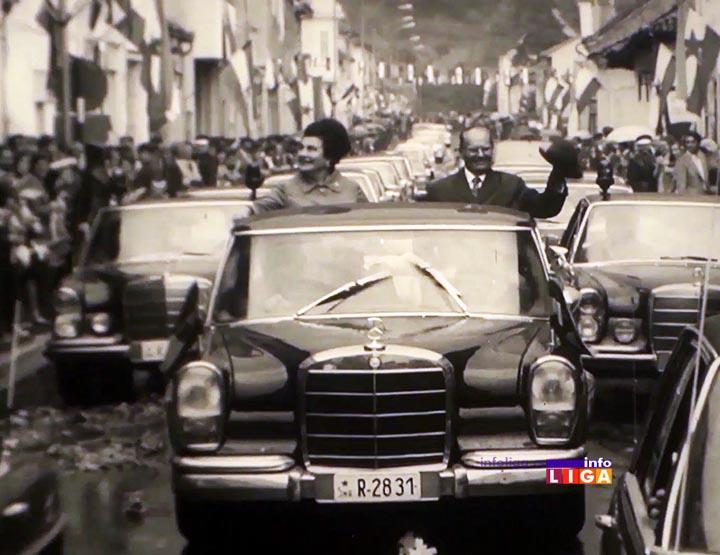 Sećanje na dan kada je Tito posetio Ivanjicu (VIDEO)