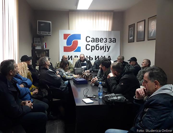 IL-sastanak-malinara-ivanjica Nekoliko udruženja malinara uz Savez za Srbiju, na protestima u Beogradu