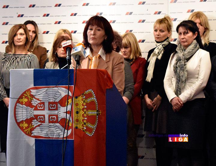 IL-sns-vinka-kzn SNS Ivanjica - Stop nasilju nad ženama (VIDEO)