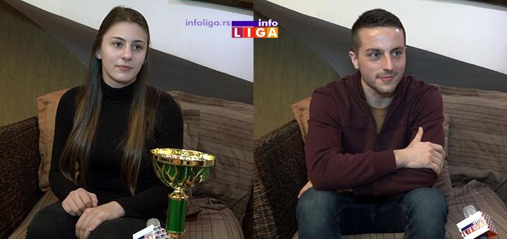 Anđela i Ivan najbolji sportisti Ivanjice za 2018.godinu (VIDEO)