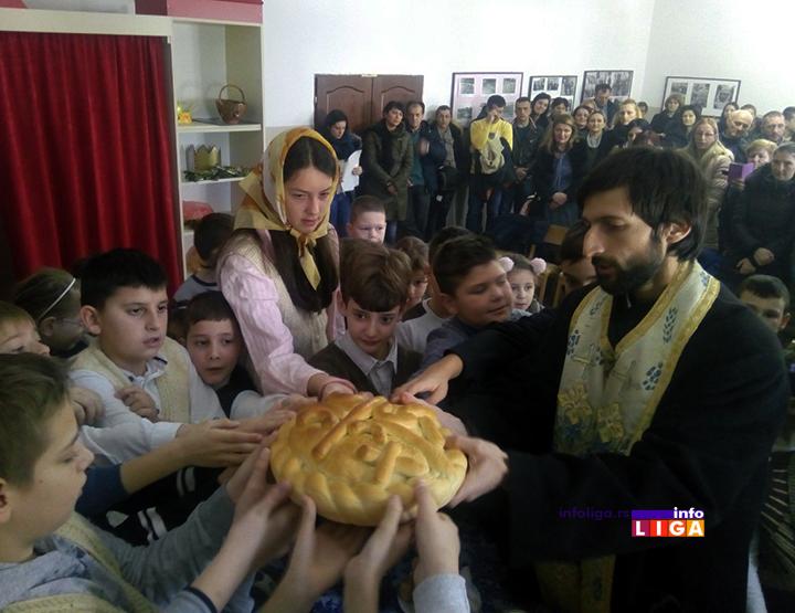 IL-svsaava19-medjureecje1 Savindan svečano obeležen u ivanjičkim školama (FOTO)