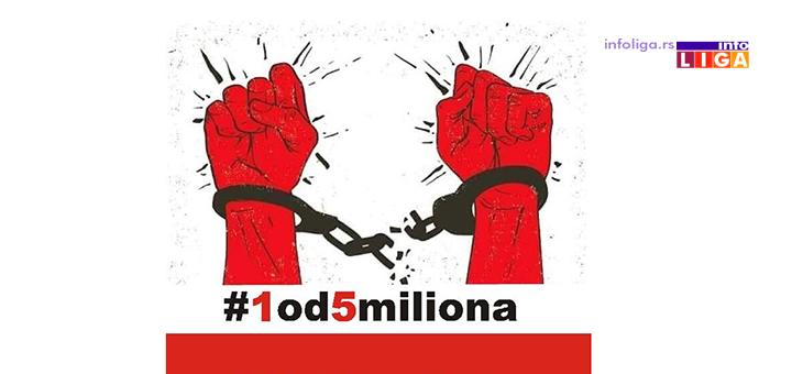 IL-1od5miliona_ivanjica Protestna šetnja ''#1od5miliona'' u petak u Ivanjici (VIDEO)