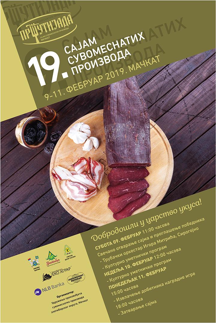 IL-Prsutijada-XIX-plakat Vikend na Zlatiboru rezervisan za devetnaestu Pršutijadu