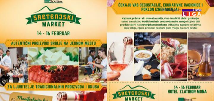 """Prvi """" Sretenjski market"""" u hotelu Mona na Zlatiboru"""