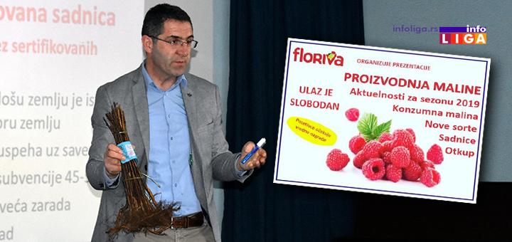 IL-floriva_predavanje Tradicionalna prezentacija preduzeća Floriva o proizvodnji maline