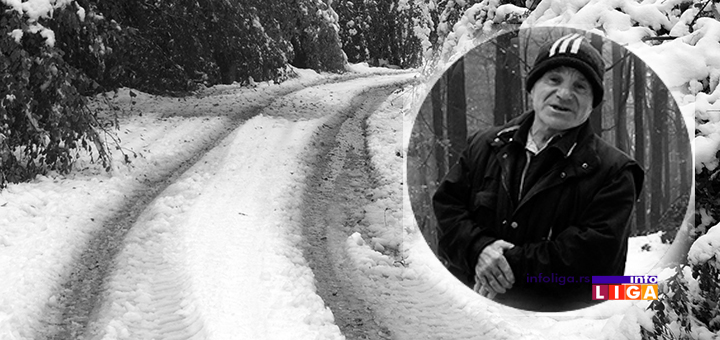 IL-hranislav-bojovic Čovek pronađen mrtav u snegu