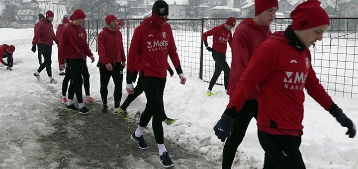 IL-javor-trening-sneg Zimska pojačanja u Javor Matisu - Pripreme u Hrvatskoj (VIDEO)