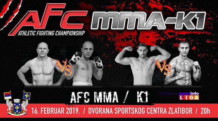 Spektakl na Zlatiboru – MMA kik boks–K1 turnir u oktagonu