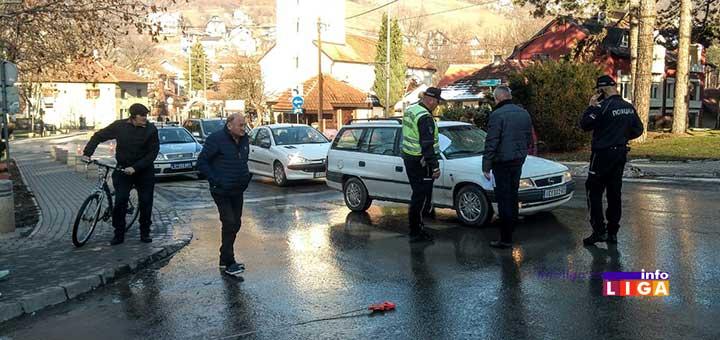 IL-udaren-pesak U Ivanjici udaren autom čovek na pešačkom prelazu