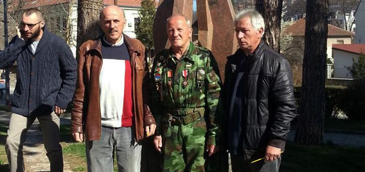 IL-20godbomb-cvece Srpski veterani Ivanjice obeležili 20 godina početka NATO agresije