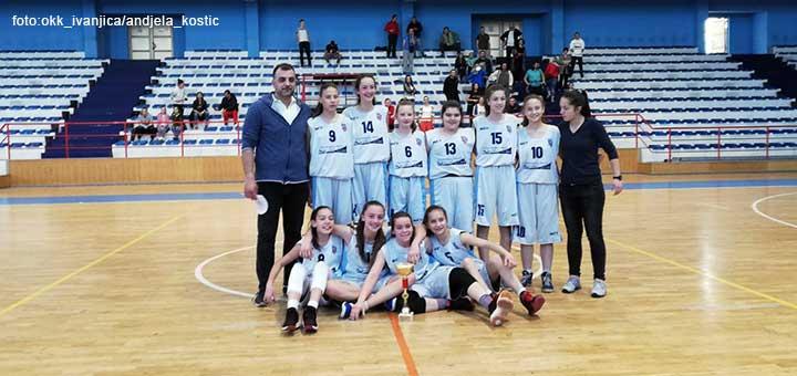 Košarkašice OKK Ivanjica među osam najboljih u Srbiji